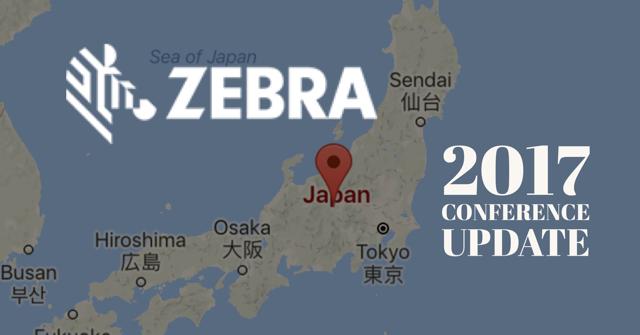 Robin's Zebra Conference Report:  2017 Zebra Technologies APAC Channel Partner Summit