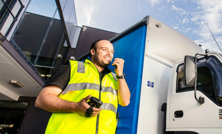 Enable your mobile fleet with hands-free push-to-talk capability