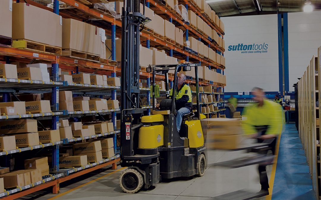 Warehouse Refresh: How New Mobility Hardware Optimised Operations For Sutton Tools | Case Study