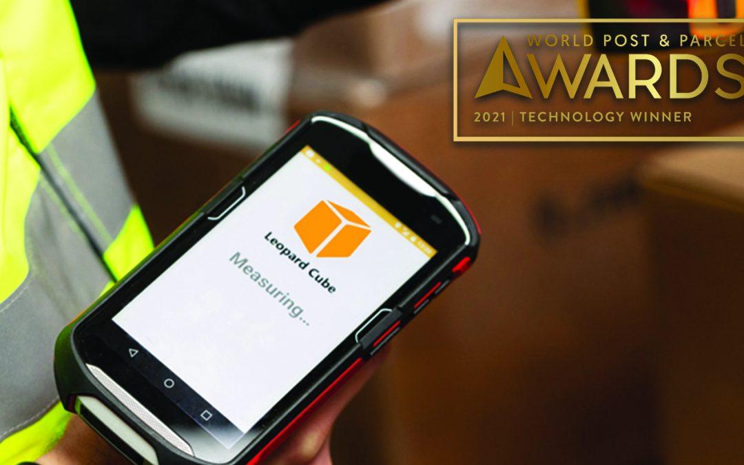 Leopard Cube – Winner of the World Post & Parcel Technology Award 2021